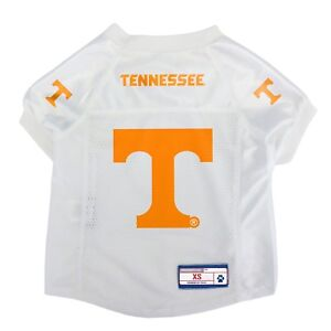Tennessee-Volunteers-NCAA-LEP-Dog-Pet-Mesh-Jersey-White-Licensed-Sizes-XS-XL