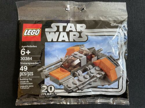 Lego Star Wars Snowspeeder Snow Speeder Mini Polybag #30384 BRAND NEW Disney