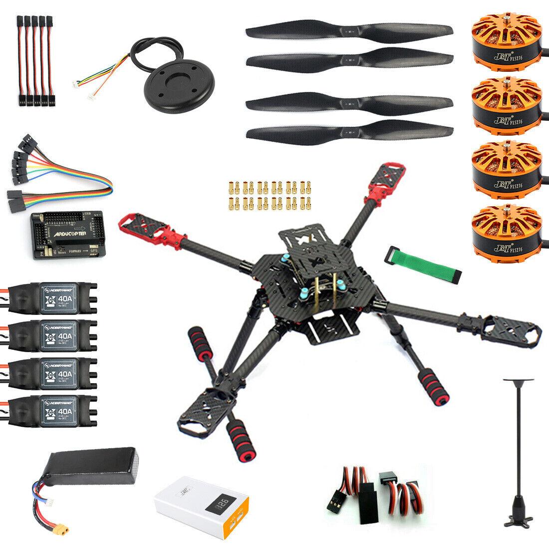 Hágalo usted mismo RC GPS DRONE Umbrella Foldable X4 560mm FPV Avión 4-Axis Kit desensamblar