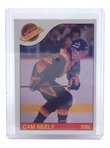 O-Pee-Chee Hockey 198586 CAM NEELY #228