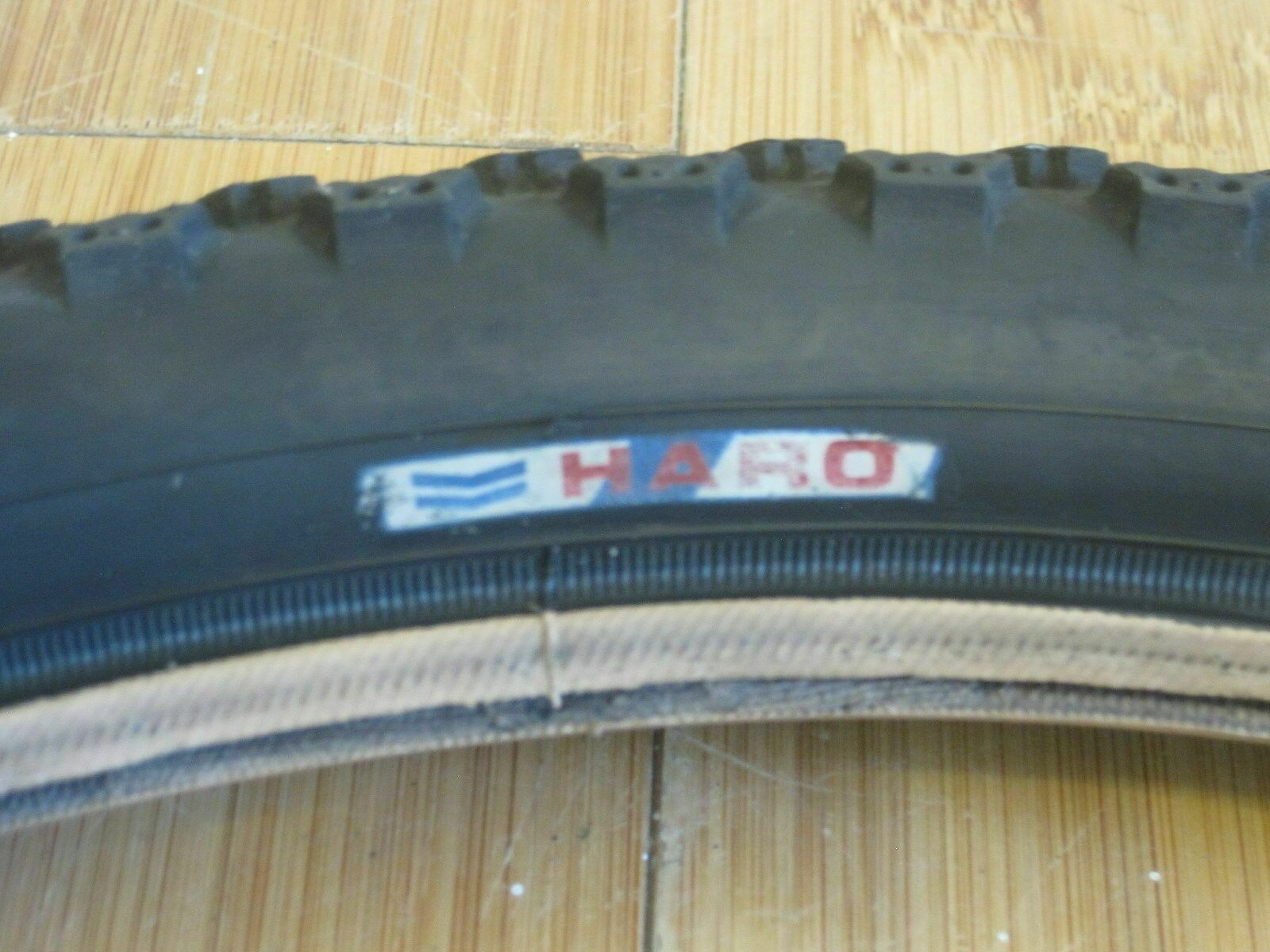 Vintage Haro Holeshot bmx tire 20x2.10 rare old mid school freestyle race GT