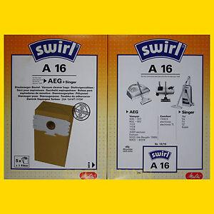 5-Beutel-SWIRL-A-16-Staubsaugerbeutel-A16-6-Euro-FREI-HAUS