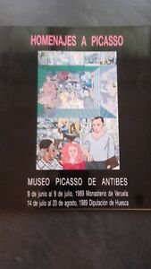 Homenajes A Picasso Museo Picasso Di Antibes 1989 Illustre Colore Be