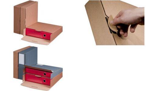 #20 cartella xsmartboxpro-Spedizione Cartone b 80 mm Marrone,