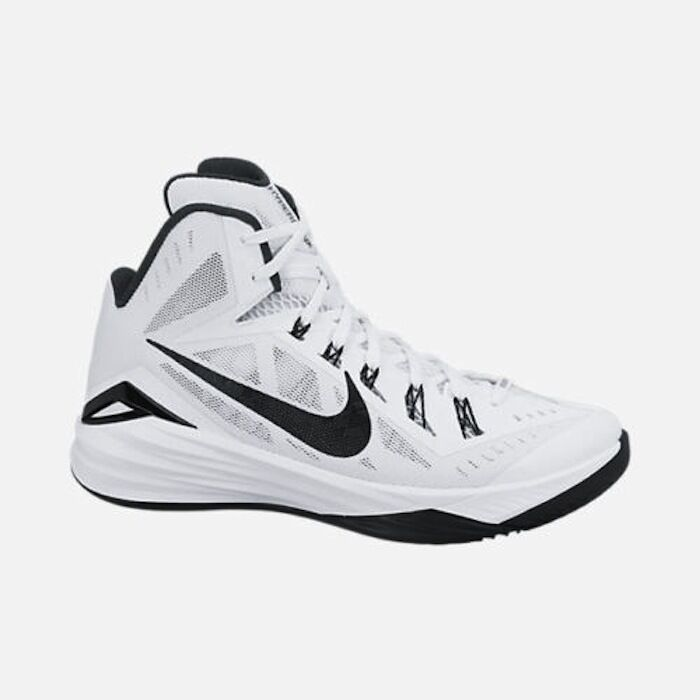 Nike Men's Hyperdunk 2014 TB Shoes Basketball Shoes TB White / Black 653483 100 NEW 9f0349