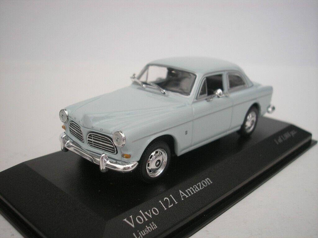 Volvo 121 Amazon 1966 azul claro 1 43 Minichamps 430171007 nuevo