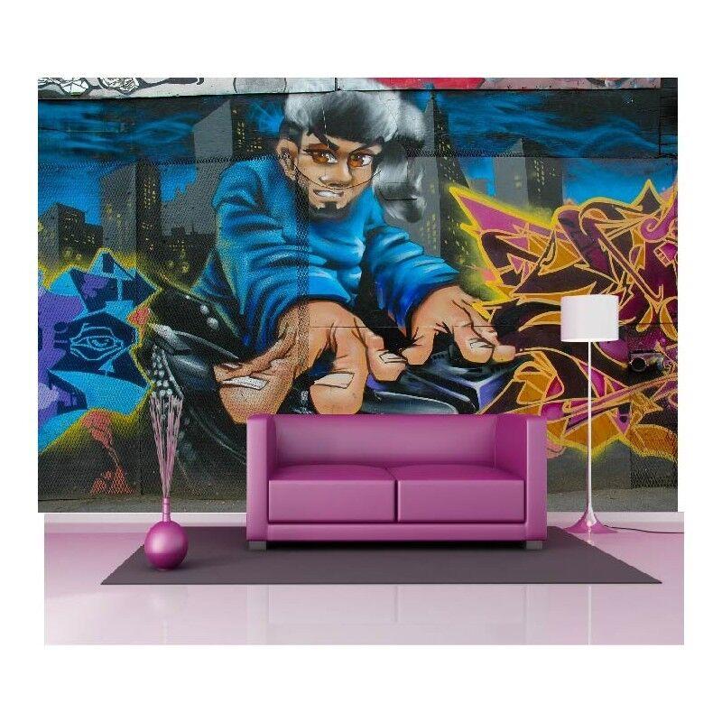 Papel Pintado Gigante Graffiti Garcon1565