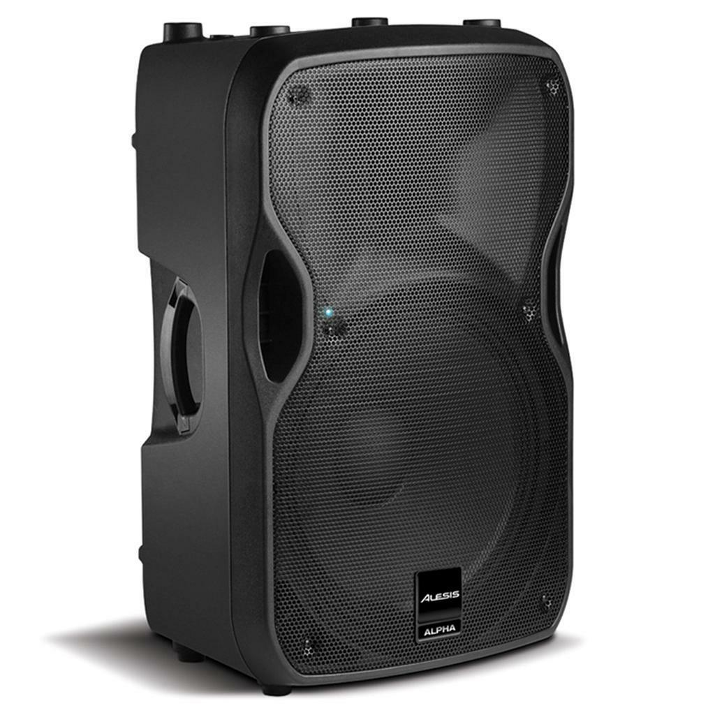 Alesis Alpha 115 Active 2-Way 15  1000 Watt Loudspeaker with Built-in Alesis DSP
