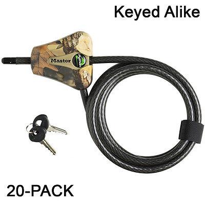 Master Lock Python Trail Camera Adjustable Camouflage Cable Locks 8418KA-4 CAMO