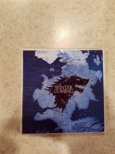 Game of Thrones Houses 4x4 Ceramic Coasters Handmade