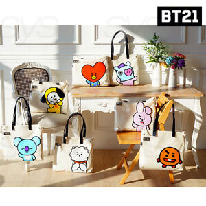BTS-BT21-Official-Authentic-Goods-PVC-Shoulder-Bag-7Characters-By-Kumhong-Fancy