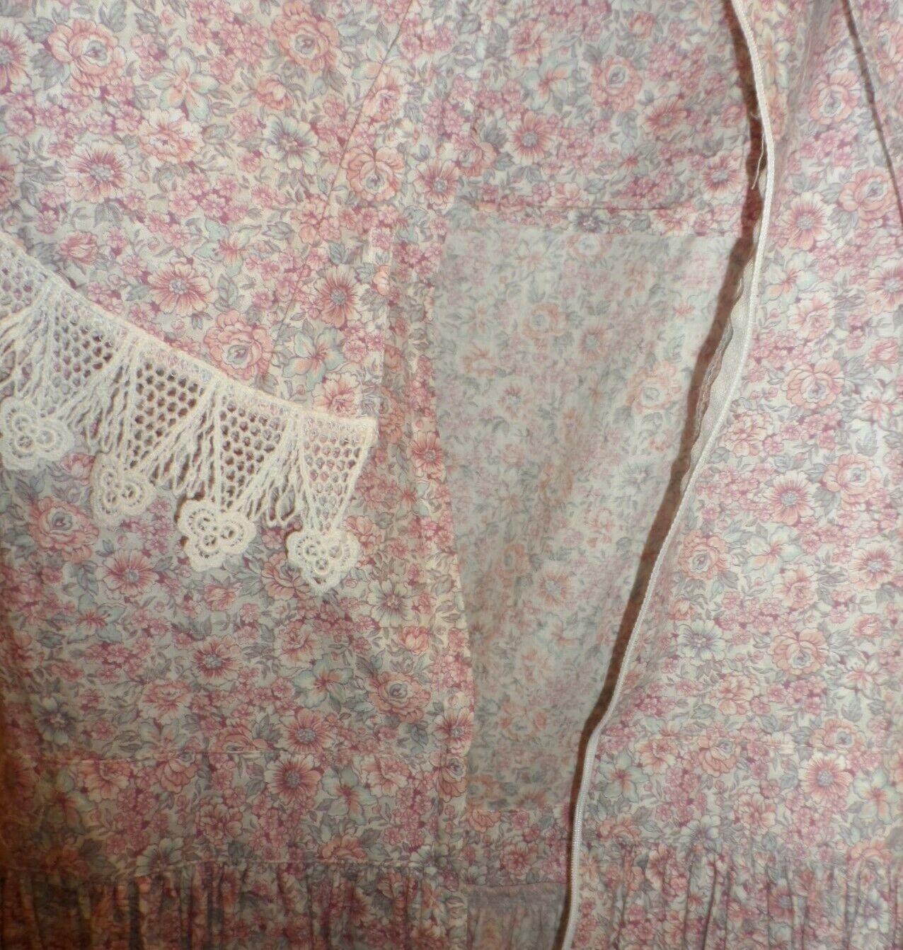 Vintage Scott McClintock Gunne Sax Floral Pink Co… - image 6