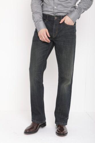 Jeans Bootcut Da Uomo Ex Highstreet Regular Fit in Denim Casual