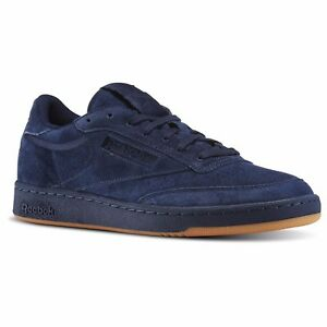 bd4f8b32ce998e ... Image is loading Reebok-Club-C-85-TG-Navy-Blue  Reebok Classics ...