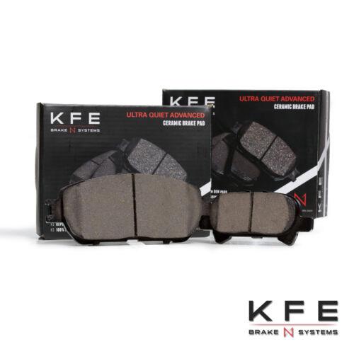 Premium Ceramic Disc Brake Pad FRONT REAR Fits Camry Avalon Solara KFE906A-828