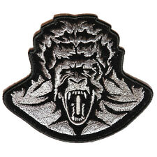 Embroidered Zombie Gorilla Iron on Sew on Biker Patch Badge