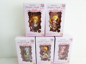 Sailor-Moon-Twinkle-Dolly-25th-BANDAI-2017-Figure-charm-All-5-Complete-set-Japan