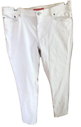 L L bean White Jeans Sz -14 Womens