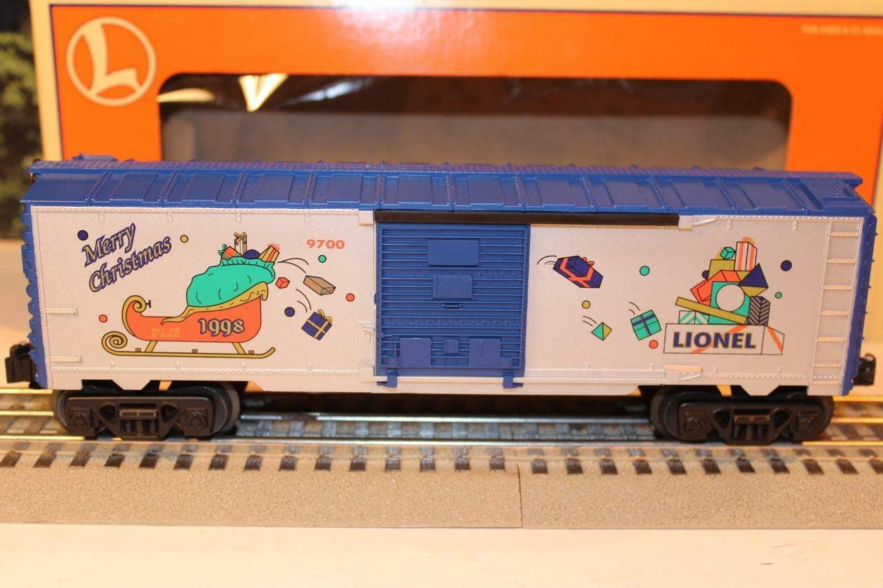 LIONEL 16292 - 1998 EMPLOYEE CHRISTMAS BOXCAR-0 027  NEW- - SH