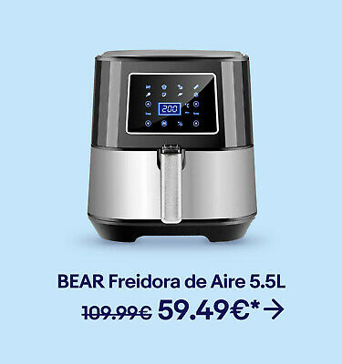 BEAR Freidora de Aire 5.5L 59.49€*