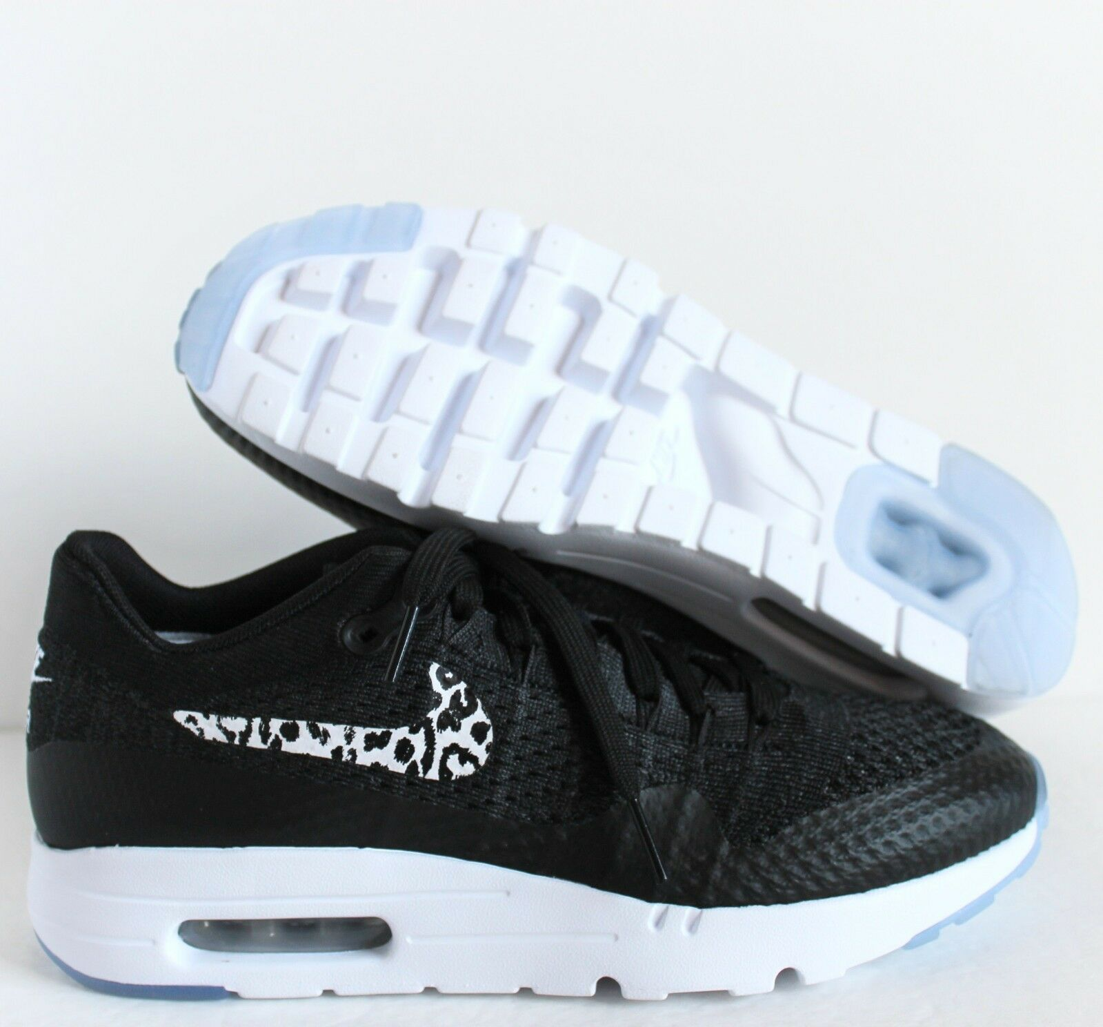 Los hombres de Nike Air Max 1 ULTRA Flyknit id precio Negro-Blanco 6.5 reducción de precio id 5563b7