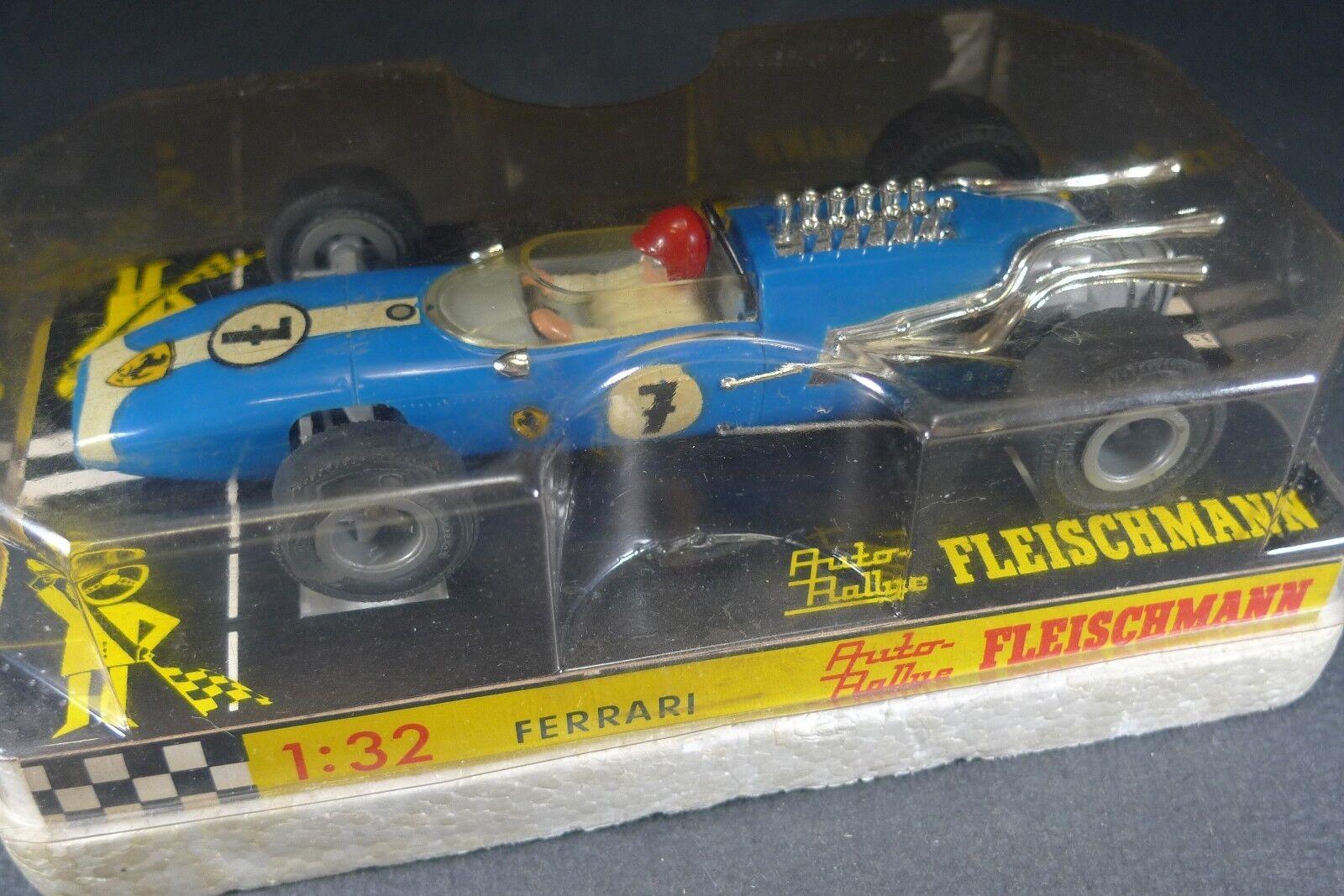Nouvelle génération, nouveau choix FLEISCHMANN. FERRARI FERRARI FERRARI F1. REF: 3201. + boite. slot car 55f746