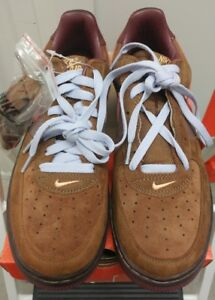 outlet store e3c70 2feb8 Image is loading 06-Nike-Air-Force-1-Premium-TATTOO-BROWN-