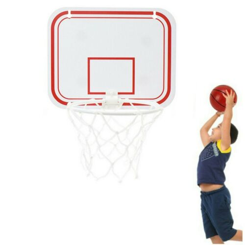 Indoor Mini Basketball System Backboard Hoop Kit Door Wall Mounted Kids Toy Set