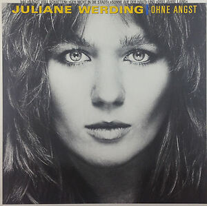 "12"" LP - Juliane Werding - Ohne Angst - k1886 - washed & cleaned"