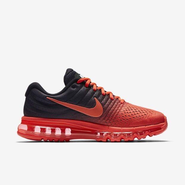 Nike Air Max 2017 Crimson   Black 849559-600 Size 11.5 US