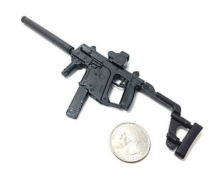 1 6 scale kriss vector submachine gun us army miniature toy model