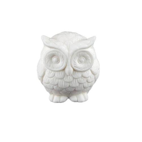 Silicone New Hand Crafted Mold NEW OWL 3D SOAP MOULD Candles//Melts,crafts S