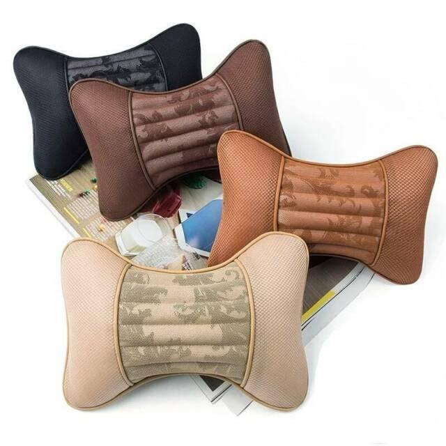 Comfort Pillows Headrest Accessories Soft Auto Seats Multicolor Massage Car CO  eBay