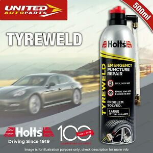 Holts Tyreweld Emergency Puncture Repair 500ML for large tyres over 17""