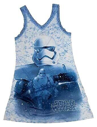 Juniors Chemise Nightgowns Star Wars  Storm Trooper  Rey BB8  R2D2   NWT