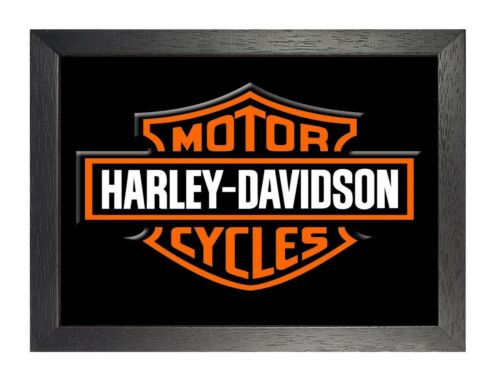 Harley Davidson 6 Photo Motorcycle Picture American HD Route 66 Bike Poster