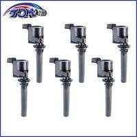 Brand Set Of 6 Ignition Coils For Mazda Mpv 6 Ford Mercury V6 3.0