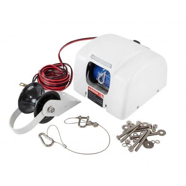 Elektrische Ankerwinde inkl. inkl. Ankerwinde Ankerleine 12V  13,6 kg bd6bf0
