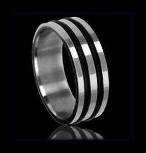 bague homme silicone