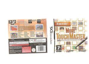Rare-MORE-TOUCHMASTER-20-Jeux-Captivants-Jeu-NEUF-Blister-DS-3DS