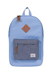NEW-Herschel-Heritage-Mid-Volume-Zip-Around-Backpack-Blue