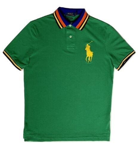 Polo Ralph Lauren Men/'s Classic Fit Big Pony Mesh Polo Shirt