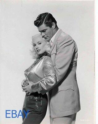 "DA-316 MAMIE VAN DOREN IN THE 1958 FILM /""BORN RECKLESS/"" 8X10 PUBLICITY PHOTO"