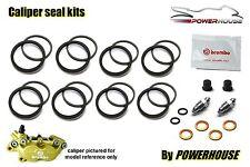 Aprilia RS250 1997 Brembo front brake caliper seal repair kit