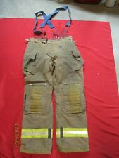 Mfg 2011 Morning Pride 40 X 37 Fire Fighter Turnout Pants Bunker Gear Suspenders