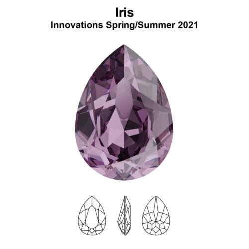 Genuine SWAROVSKI 4320 Pear Shape Fancy Crystals Rhinestones NEW Colors