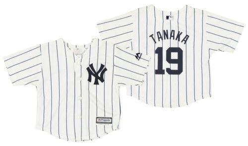 New York Yankees Masahiro Tanaka #19 MLB Baby Infant Home Replica Jersey White