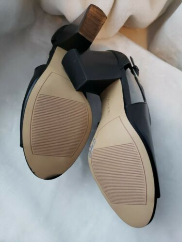 Toe Nuovo Sandal 8 e Tahari Bootie Size Black Open Going Side 5 PqPtBSp