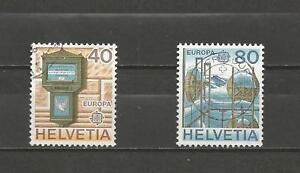 SWITZERLAND-1979-Eurostamps-GOOD-USED-COMPLETE