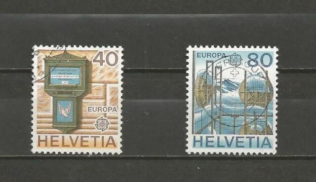 SWITZERLAND - 1979 Eurostamps   -GOOD USED COMPLETE